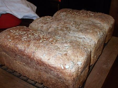 how to make bread at home without oven and yeast
